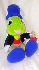 Disney Mattel Jiminy Cricket Plush Animal 1992 Pinocchio Vintage Green