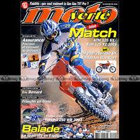 MOTO VERTE N°341 CANNONDALE E 440 R YAMAHA 125 YZ 250 WR KTM TYLA RATTRAY 2002