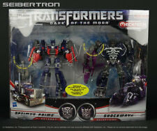 Costco exclusive SHOCKWAVE + OPTIMUS PRIME Transformers Dark of the Moon New