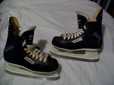 VERY NICE ICE HOCKEY SKATES,BAUER CHARGER MEN'S SIZE 4 NEARLY NEW GREAT SHAPE