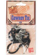 Wild West Western Party Fancy Dress Cowboy Necktie Bootlace Tie Assorted 99501