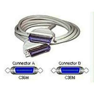 Belkin Pro Series Centronics 36 Male/Male Parallel Switchbox Cable 1.8m