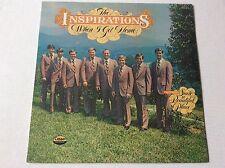 1977 The Inspirations WHEN I GET HOME southern gospel vinyl LP SEALED + bonus