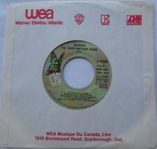 "QUEEN Tie your mother down / Drowse NM- CANADA ORIG 1976 ELEKTRA 45 7"" Vinyl"