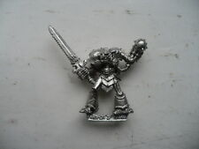 Citadel Warhammer 80s Chaos Champion of Khorne Mechanical Leg Head + Power Mace