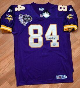 Authentic Starter Pro Line Minnesota Vikings Randy Moss NFL Jersey SZ 48 NWT'S