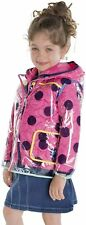 NWT! Andy & Evan Girl's 3 in 1 Polka Dot Rain Jacket Set Size 4T