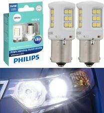 Philips Ultinon LED Light 1141 White 6000K Two Bulbs Rear Turn Signal Replace OE
