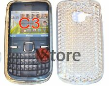 Cover silicone Gel TPU Clear For Nokia C3 silicone