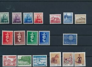 LN52794 Norway mixed thematics nice lot of good stamps MNH