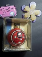 Vintage New Glass Ball Ornament South Carolina Red Team Collectible Christmas