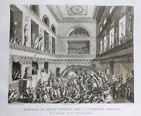 Ferraud 1795 Assassinat du Député Ferraud Convention Nationale Révolution France