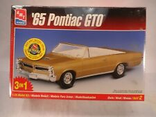 AMT/ERTL '65 PONTIAC GTO 3 IN 1 1/25 SCALE FACTORY SEALED Convertible