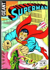 ¤ SUPERMAN GEANT n°4 ¤ SUPERGIRL ¤ 1979 SAGEDITION