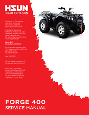 Hisun HS Forge 400 ATV Service Owners & Parts CD Coleman Trail Tamer Rodeo 400