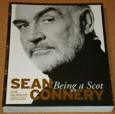 SEAN CONNERY - Being A Scot - Official SIGNED bookplate edition - softback book