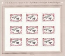 US Stamp - 1998 Trans-Mississippi - 9 Stamp Sheet - #3210