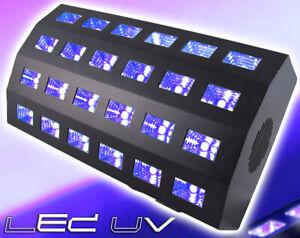 """BeamZ """"BUV463"""" 24x 3 Watt UV Schwarzlicht LED DMX Fluter Scheinwerfer Licht"""