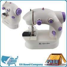 Portable Mini Hand Held Sewing Machine Toy Household Tailor Battery Operated NEW