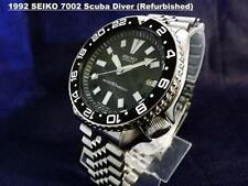 Vintage 1992 SEIKO  Black Scuba Diver 7002-700J GMT Bezel, Date, Auto. SDS001