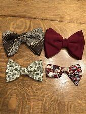 Ormond Vintage Men's Clip On Bow Tie lot of 4
