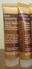 2 JOHN FRIEDA BRILLIANT BRUNETTE Shine Shock Leave On Perfecting GLOSSER 0.7 OZ