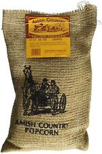 Amish Country Popcorn-Yellow Popcorn Kernels-Burlap Sack (2 lb)-Popping Corn