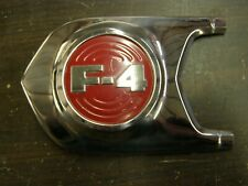 NOS OEM Ford 1952 1953 F4 Truck Pickup Hood Side Ornament Moulding Trim LH
