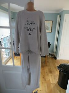 """Ladies """"It's the most exciting time of the year"""" pyjamas - various sizes RRP £25"""