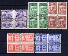 CHINA Sc#776-80 Blk 4 1947 Postal System 50th Anniversary MNH