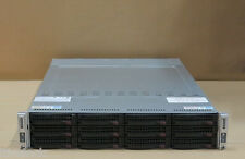 Supermicro superserver 6026TT-hdtrf 192 GB mem 2x nodi 4 Quad Core X5570 Server