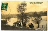 CPA 38 Isère Charavines-les-Bains Un côté pittoresque du Lac