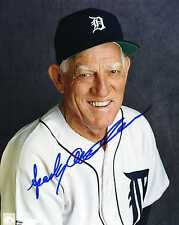 """SPARKY ANDERSON Detroit Tigers pp SIGNED 8""""x10"""" Photo RIP"""