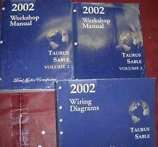 2002 FORD TAURUS MERCURY SABLE Service Shop Repair Workshop Manual Set Factory