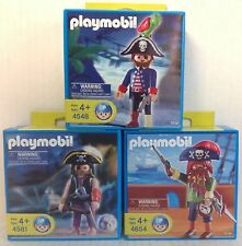 Playmobil PIRATES:  1 each  4548, 4581, 4654  - NEW