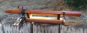 "High Spirits EarthTone Flute - Key of ""G"" Minor - 432Hz tuning - Aromatic Cedar"
