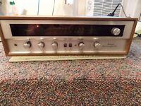 SANSUI 210 VINTAGE STEREO RECEIVER 1972 AM/FM TUNER PHONO AMPLIFIER