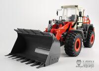 LESU CNC Metal 1/15 Hydraulic Loader RC Car Model W/ ESC Motor Servo W/O Battery
