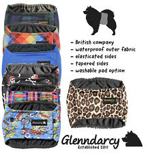 Glenndarcy Waterproof Male Dog Belly Band Diaper I Urine Incontinence Marking