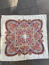 Antique 19th C Bandana Neckerchief Fabric 1800s