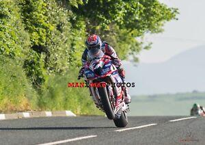 Gary Johnson  2018 Isle of Man TT Superbike   A4 Photo