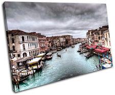 Venice Italy  City SINGLE TOILE murale ART Photo Print