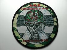 S.O.D. WOVEN  PATCH