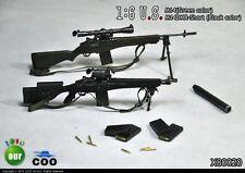 COOMODEL COO US Military M14 & M14 DMR-Short Sniper Rifle Set 1/6