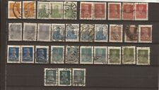 RUSSIA-54 Earlier used stamps ( cancels?)