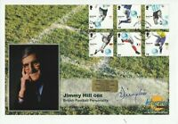6 JUNE 2006 WORLD CUP WINNERS FDC HAND SIGNED BY JIMMY HILL SHS