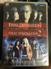 Final Destination + Final Destination 2: 2-Disc Set (DVD, MA15+)