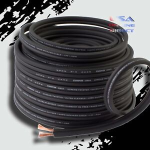 10 Gauge TRUE AWG 25 Ft OFC 100% Copper Marine Car Home Audio Speaker Cable Wire
