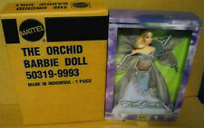 The Orchid Barbie NRFB 2001 Flowers in Fashion collection NRFB & orig shipper