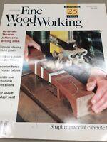 Taunton Fine Wood Working Magazine Vintage December 2000 Home Building Hardware